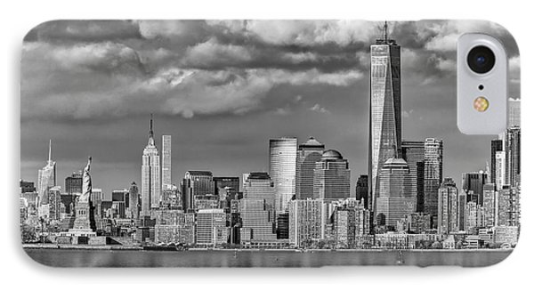 New York City Icons II Bw IPhone Case