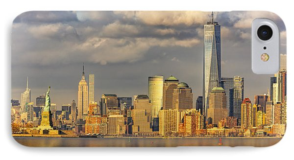 New York City Icons II IPhone Case by Susan Candelario