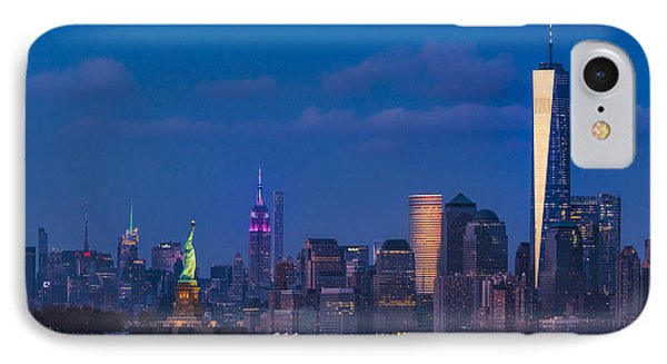 IPhone Case featuring the photograph New York City Icons by Susan Candelario