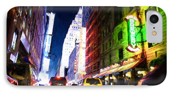 New York City Phone Case by Matthew Ashton