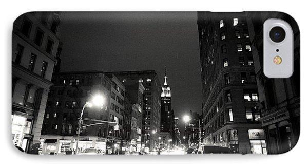 New York City - Midnight IPhone Case by Vivienne Gucwa