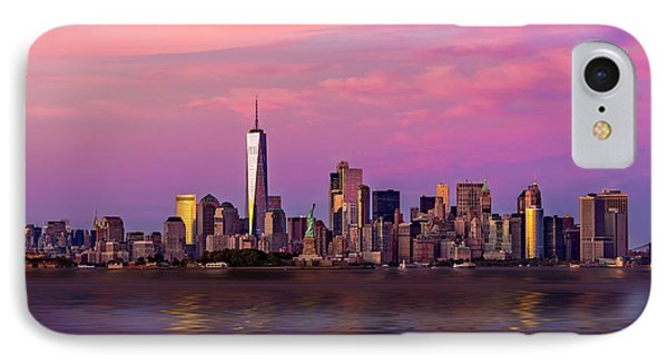 New York City Nyc  Landmarks IPhone Case by Susan Candelario