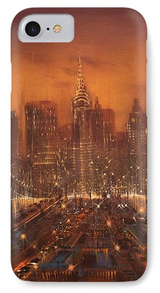 New York City Of Dreams IPhone Case by Tom Shropshire