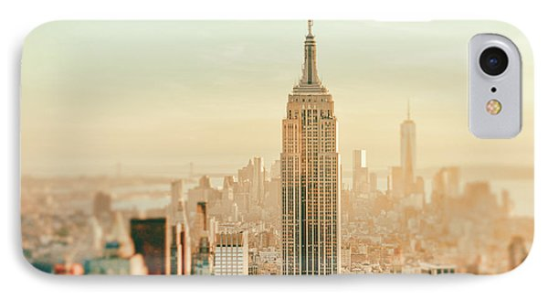 New York City - Skyline Dream IPhone Case by Vivienne Gucwa