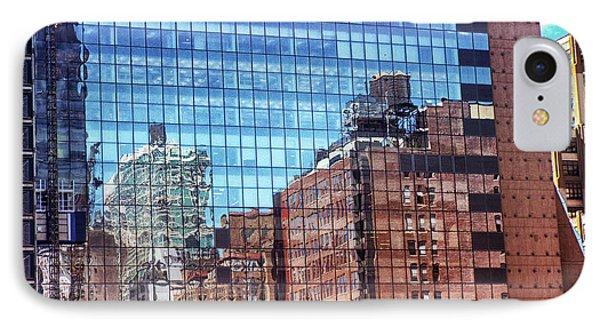 New York City Skyscraper Art 4 IPhone Case by Judi Saunders