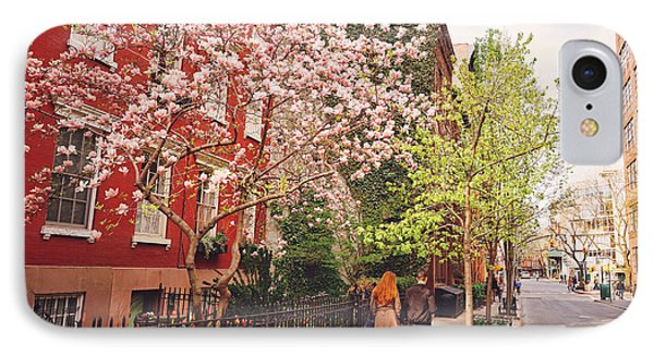 New York City - Springtime - West Village IPhone Case by Vivienne Gucwa