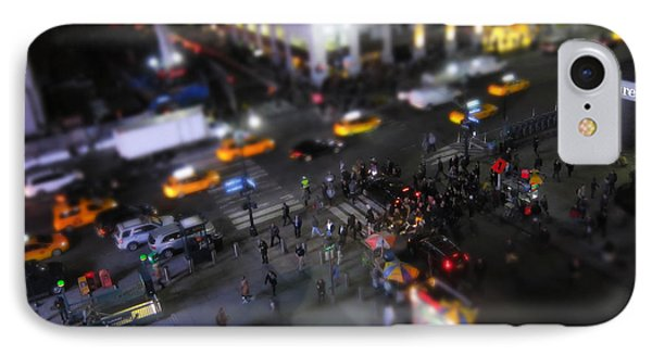 New York City Street Miniature IPhone Case by Nicklas Gustafsson