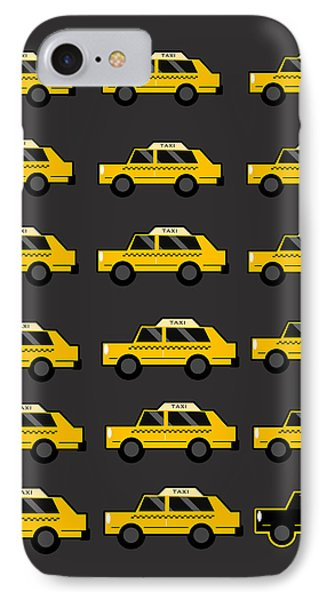 New York City Taxi IPhone Case by Art Spectrum