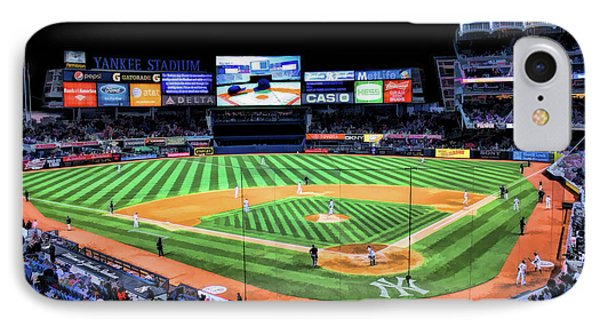 Yankee Stadium iPhone 7 Case - New York City Yankee Stadium by Christopher Arndt