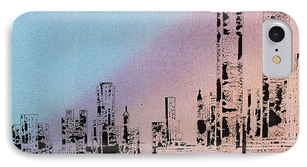 New York City...in Memoriam IPhone Case by Carol M Botha