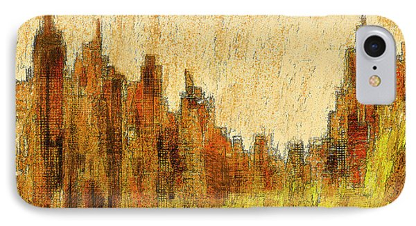New York City In The Fall IPhone Case
