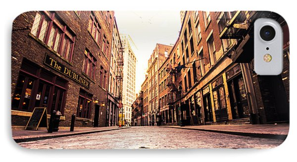 New York City's Stone Street IPhone Case by Vivienne Gucwa