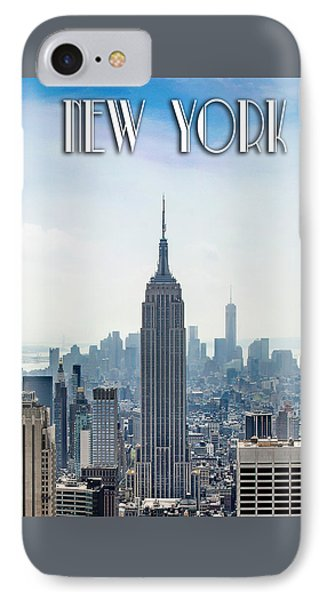 New York Classic IPhone Case by Az Jackson