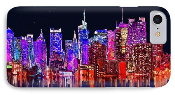 New York IPhone Case by Edelberto Cabrera