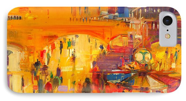 New York  Grand Central IPhone Case by Peter Graham
