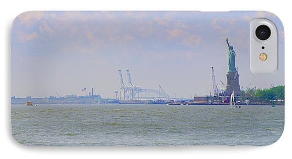 New York Harbor IPhone Case by Bill Cannon