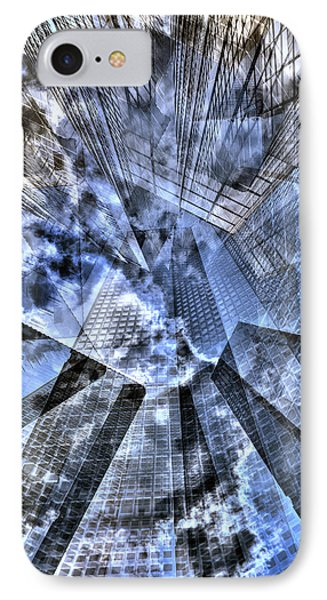 New York Iris Collage IPhone Case