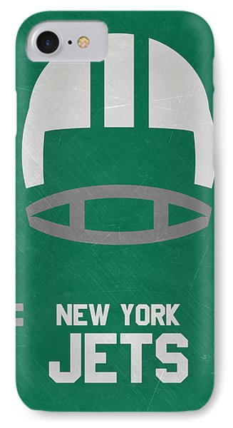 New York Jets Vintage Art IPhone Case