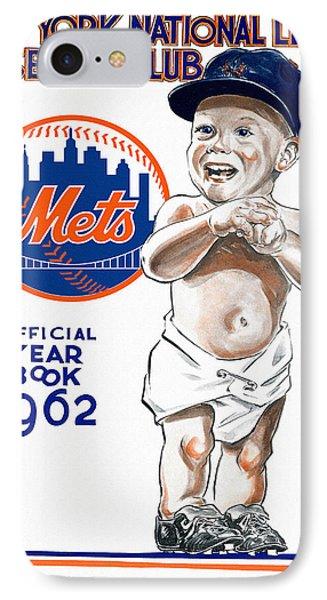 New York Mets 1962 Yearbook IPhone Case