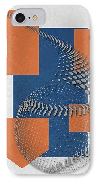 New York Mets iPhone 7 Case - New York Mets Art by Joe Hamilton