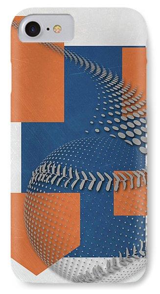 New York Mets Art IPhone Case by Joe Hamilton