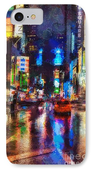 New York IPhone Case by Mo T