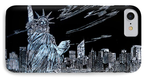 New York New York New York  IPhone Case by Saad Hasnain