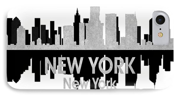 New York Ny 4 Squared IPhone Case by Angelina Vick