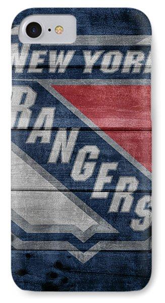 New York Rangers Barn Door IPhone Case by Dan Sproul
