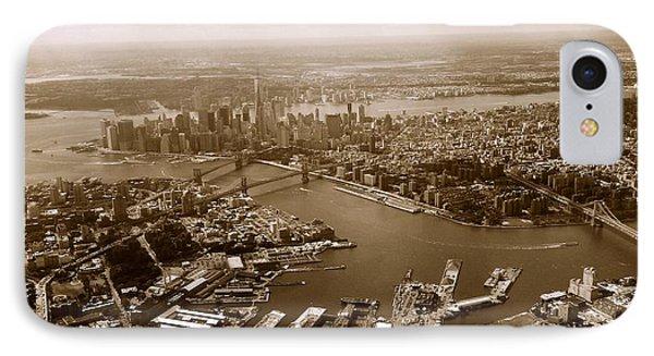 New York Skyline IPhone Case by Chris Fraser