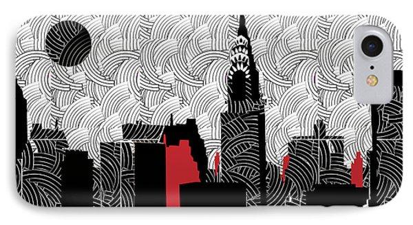 New York City Skyline Swing  IPhone Case