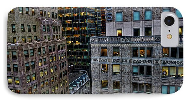 New York Windows IPhone Case by Joan Reese