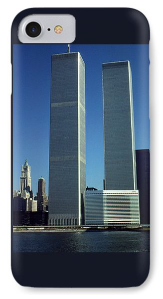 New York World Trade Center Before 911 IPhone Case