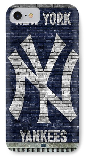 New York Yankees Brick Wall IPhone 7 Case