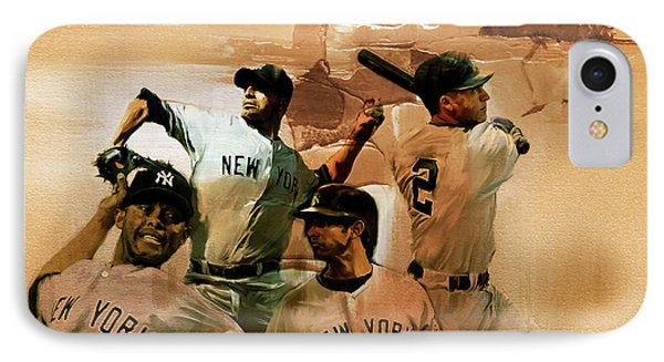 New York Yankees  IPhone Case by Gull G