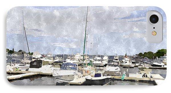 Newburyport Harbor Nhwc IPhone Case