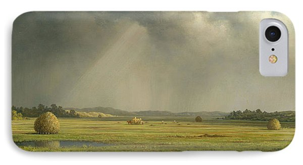 Newburyport Meadows Phone Case by Martin Heade