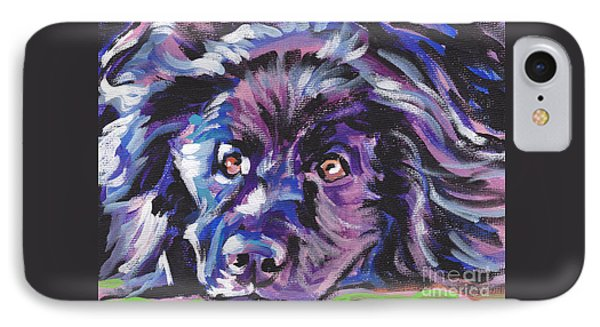 Newfie  IPhone Case by Lea S