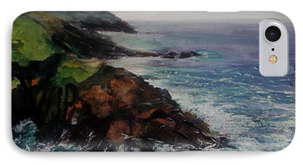 Newlyn Cliffs 2 IPhone Case