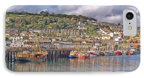 Newlyn Harbour Cornwall 2 IPhone Case