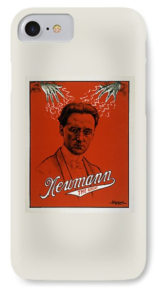 Newmann The Great - Vintage Magic IPhone 7 Case by War Is Hell Store