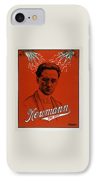 Newmann The Great - Vintage Magic IPhone Case by War Is Hell Store