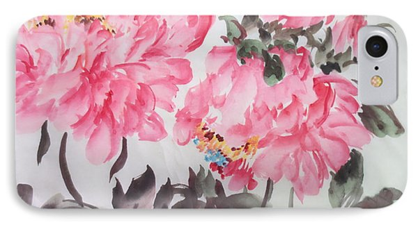 IPhone Case featuring the painting Newp04012015-663 by Dongling Sun