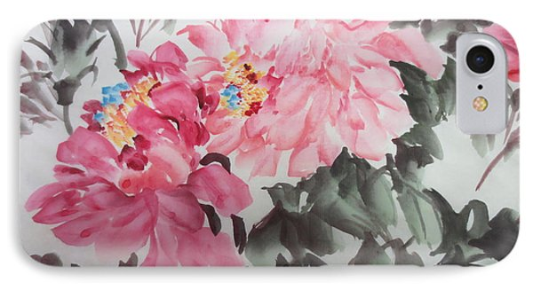 IPhone Case featuring the painting Newp04012015-664 by Dongling Sun