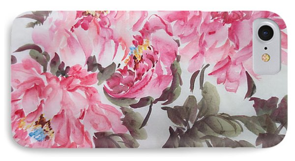IPhone Case featuring the painting Newp04012015-667 by Dongling Sun
