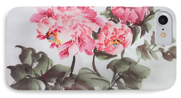 IPhone Case featuring the painting Newp04012015-669 by Dongling Sun