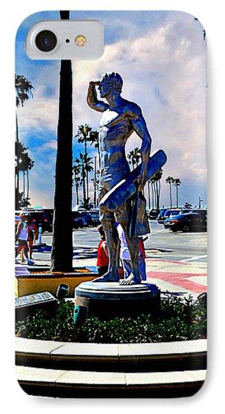 Newport Beach - Pier Entryway IPhone Case by Glenn McCarthy Art and Photography