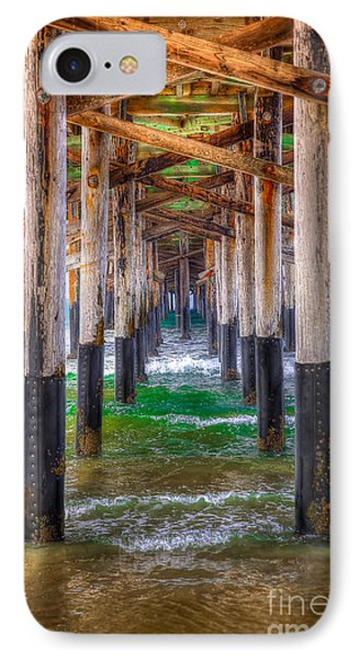 IPhone Case featuring the photograph Newport Beach Pier - Summertime by Jim Carrell
