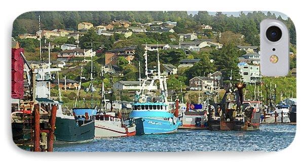 Newport Harbor IPhone Case by James Eddy