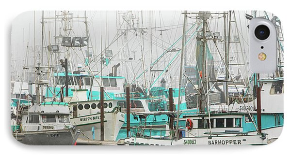 Newport, Oregon Fishing Fleet Phone Case by Jerry Fornarotto